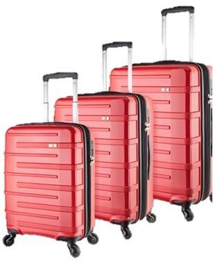 set valijas montreux swisswin 10336
