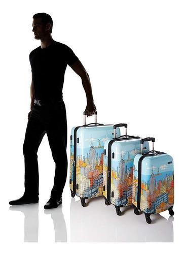 set valijas samsonite importadas 3 piezas 4 ruedas ult mod