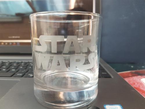 set vasos whisky star wars