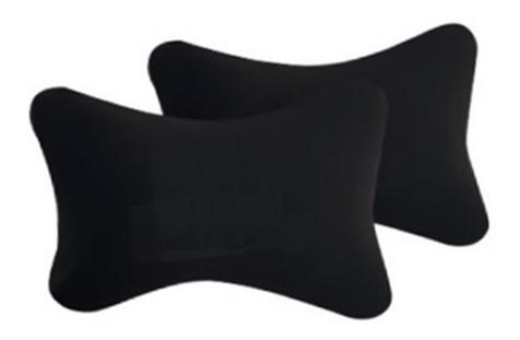 set x 2 almohadon cervical apoya cabeza auto viscoelastico