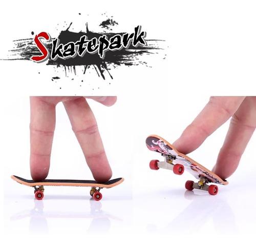 set x 2 fingerboard tipo tech deck + accesorios skate dedos