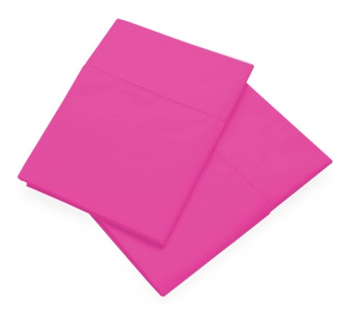 set x 2 funda almohada 160 hilos 100% algodon percal colores