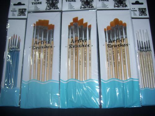set x 30 pinceles sinteticos pintura artistica/maquillaje