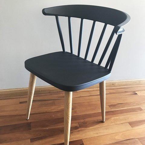 set x 4 sillas eames nordicas modelo eslovenia
