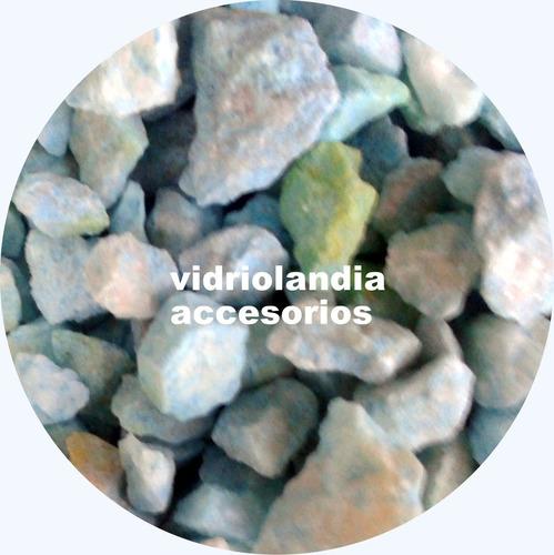 set x10 sales piedras rafia pupurri telgopor, varios colores