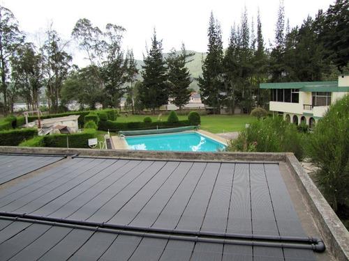 set x2 tapones colector heliocol climatización solar piscina