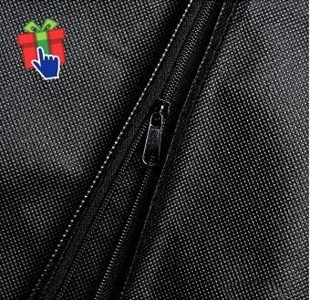 set x20 fundas ropa larga friselina negro 60x130cm traje
