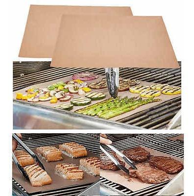 set x3 matt grill laminas antiadherentes asados parrilla bbq