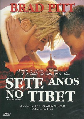 sete anos no tibet  brad pitt  dvd original