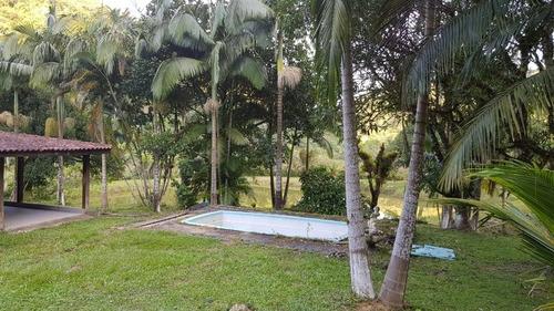 sete barra/lindo sitio c/ 4 lagos/piscina/ sede/ref:04910