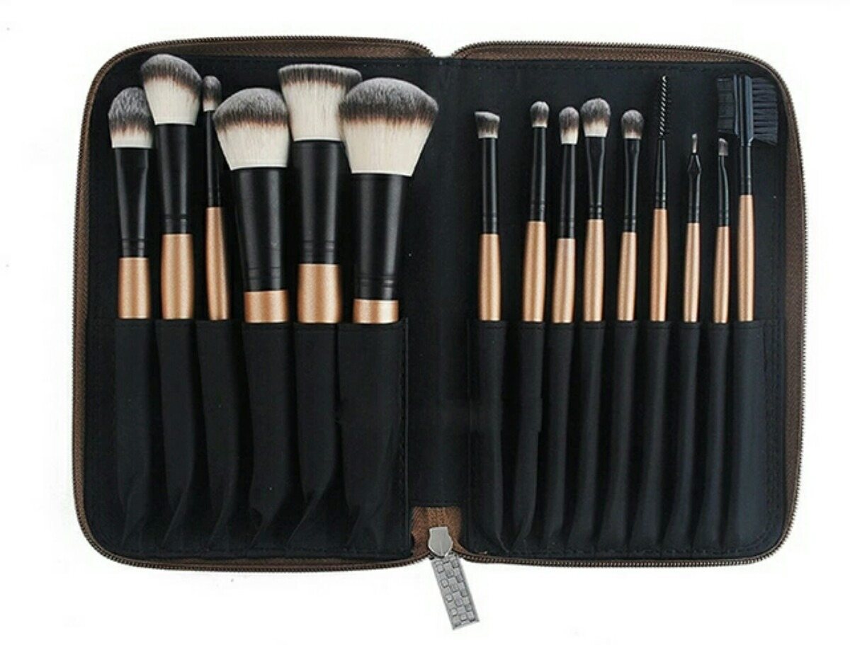 paquete de brochas para maquillaje
