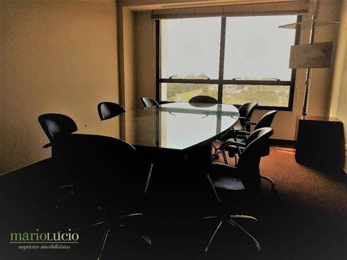 setor de autarquias  - business point, conjunto de 8 salas mobiliada (ideal p/ advocacia) - codigo: sa0015 - sa0015