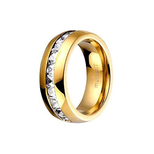 sets de anillos de bodas, titanio, acero inoxidable,