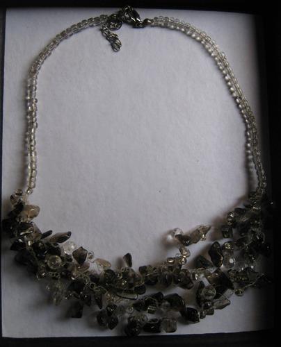 sets de collar, pulsera y arete de murano-  fantasia fina
