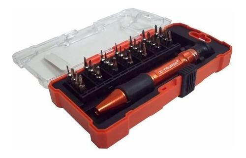 sets destornillador y puntas electronica truper x28 pz