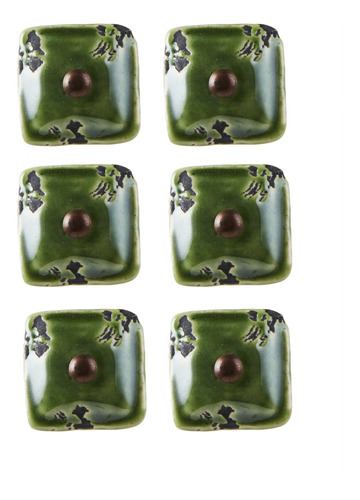 setx6 tirador cuadrado verde