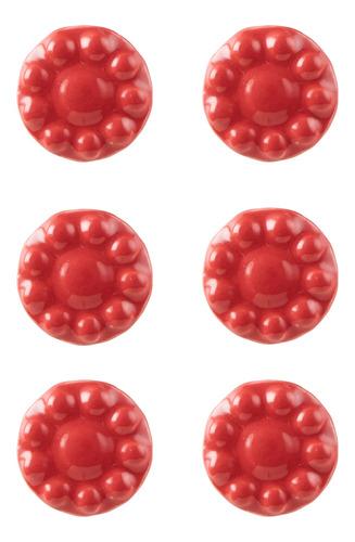 setx6 tirador flor rojo