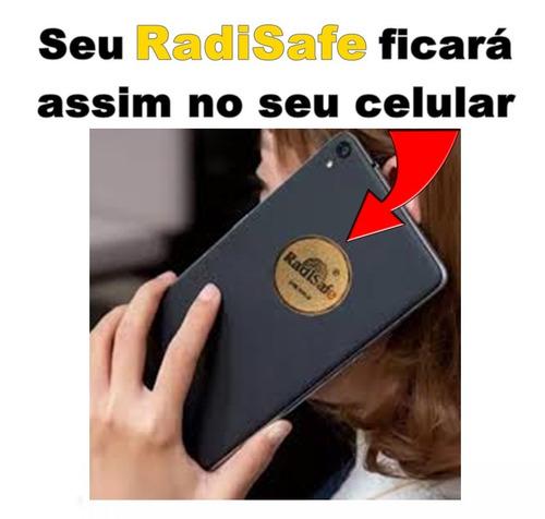 seu celular protegido dispositivo radisafe 24k anti radiação