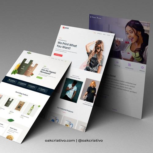 seu site ou e-commerce pronto em poucos dias!