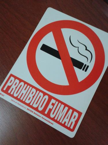 seven - pr-01 - señal  prohibido fumar