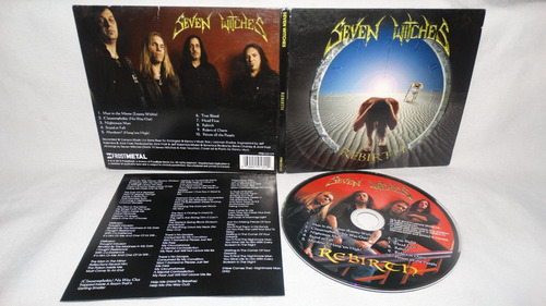 seven witches - rebirth ( jack frost savatage digipack)