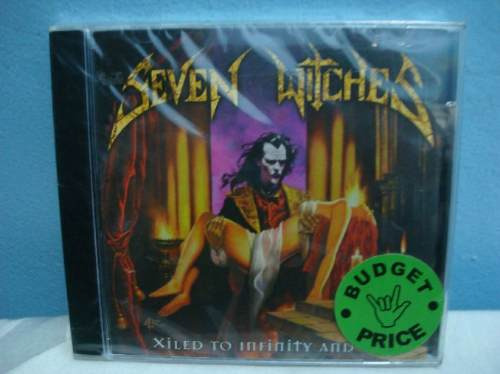 seven witches - xiled to infinity and one - cd nacional