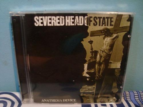 severed head of state - anathema device - cd importado