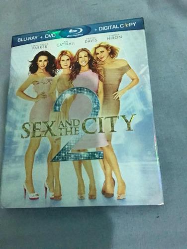 sex and the city 2 - blu ray - importado
