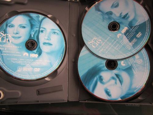 sex and the city 4° temporada completa dvd