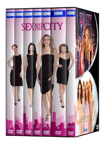 sex and the city temporada 1 - 6 + peliculas 1 y 2. dvd