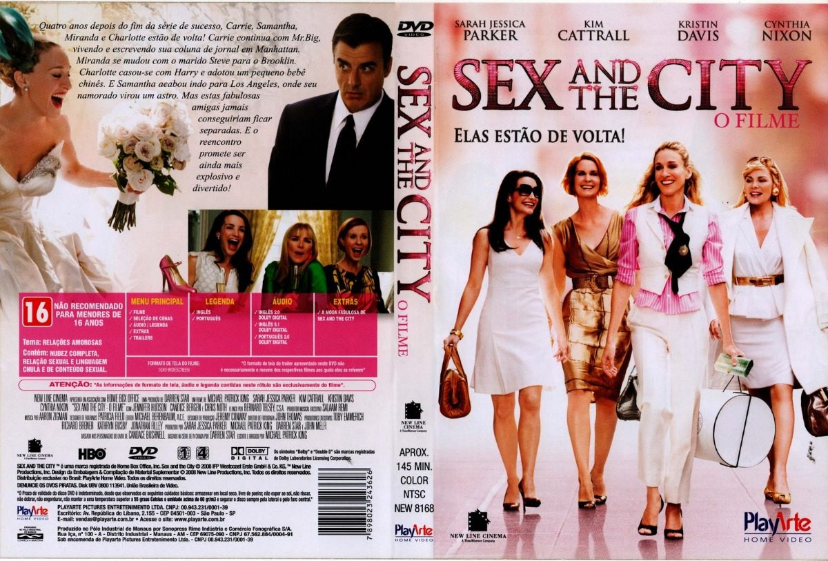 Sex And The City,o Filme(2006)c/sara Jessica Parker - R$ 75,00 em ...