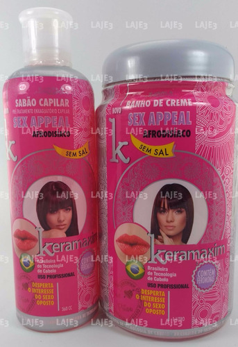sex appeal shampoo afrodisiaco con feromonas + tratamiento
