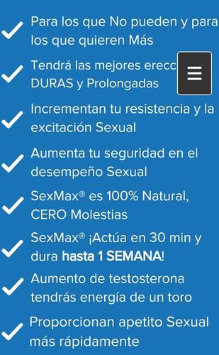 sex max ayuda a tu vida sexual