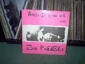 sex pistols - anarchy in the uk - live! vinilo importado