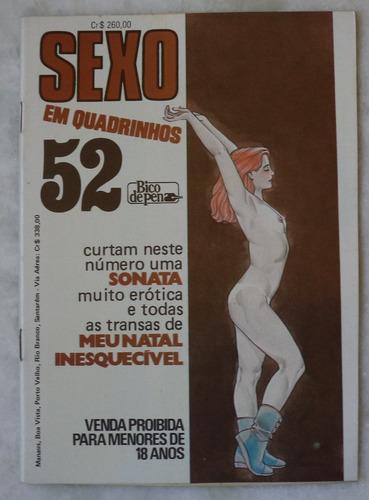 sexo em quadrinhos nº 52 editora grafipar