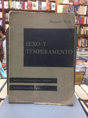 sexo y temperamento. margaret mead. psicología social