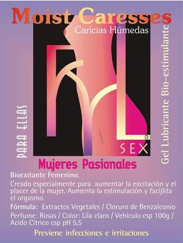 sexshop caricias húmedas 125cm3 gel excitante femenino
