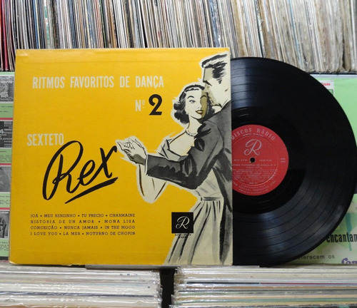sexteto rex ritmos favoritos de dança n2 -lp rádio 1957 raro