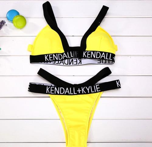sexy bikini amarillo