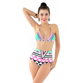 Establecem Las Bikini De Talle Alto Sexy Mujeres 8wXNk0nZOP