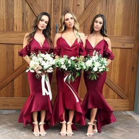 50fef3f92b Vestidos De Damas De Honor Juvenil - Ropa y Accesorios en Mercado ...