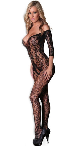 sexy body baby doll de red negro strapless table dance 79870