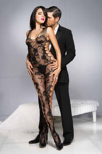 sexy body bodystocking completo de red table dance 79962