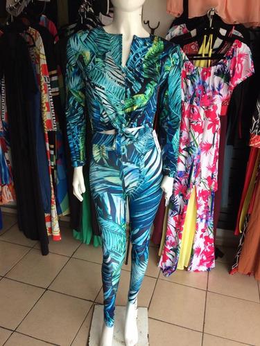 sexy conjunto 2 piezas pantalon manga larga fiesta casual