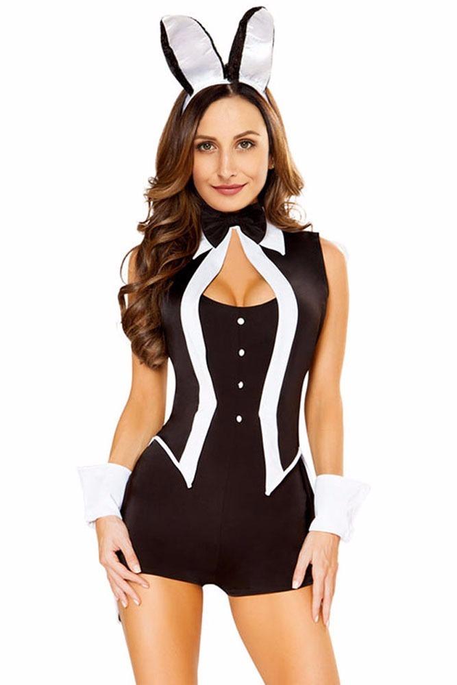 Sexy Disfraz De Coneja Jumper Con Accesorios 89061M -2557