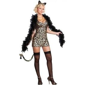 7103c49d9b Sexy Disfraz Gatita Leopardo City Kitty Talla M Halloween