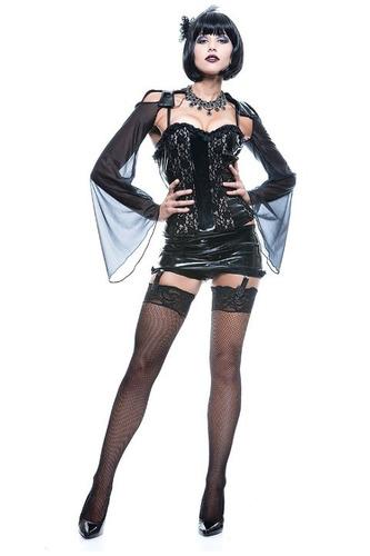 sexy disfraz leg avenue hostess de fiesta y dama de noche sx