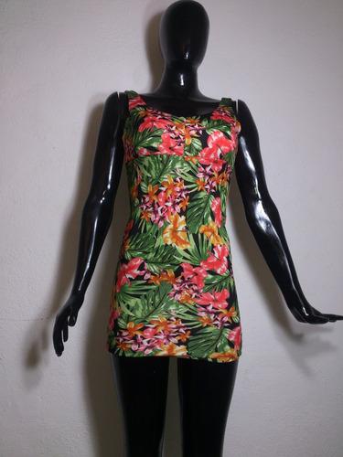 sexy mini vestido estampado flores sin mangas