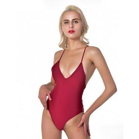a7fdaa3b3f70 Sexy Mujeres Una Pieza Bañador Acolchado Bikini Conjunto