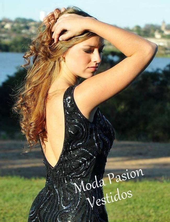 e1e8a202b sexy vestido fiesta espalda descubierta bordado moda pasion. Cargando zoom.